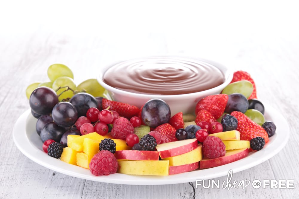Fruit dip is a popular snack that everyone will love - Easy appetizers from Fun Cheap or Free