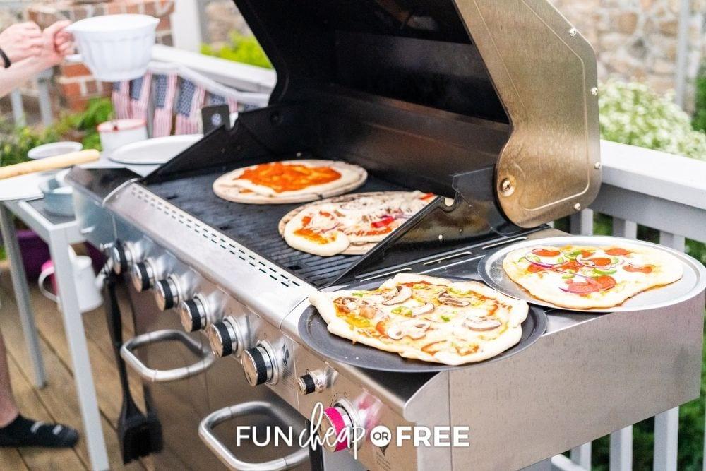 fancy grill in backyard, from Fun Cheap or Free