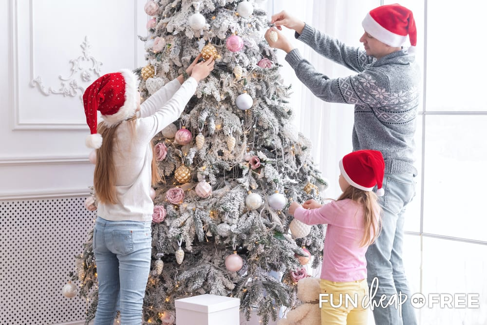 Focus on the memories that you're making rather than how much money you should spend on Christmas - Tips from Fun Cheap or Free