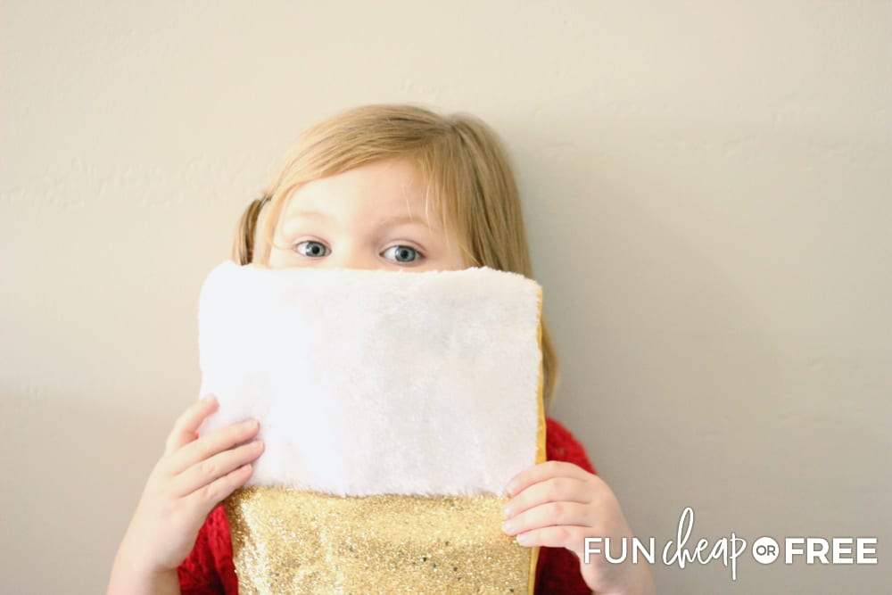 Get a stocking and fill it with things that you can do for Christ this holiday season - Tips from Fun Cheap or Free