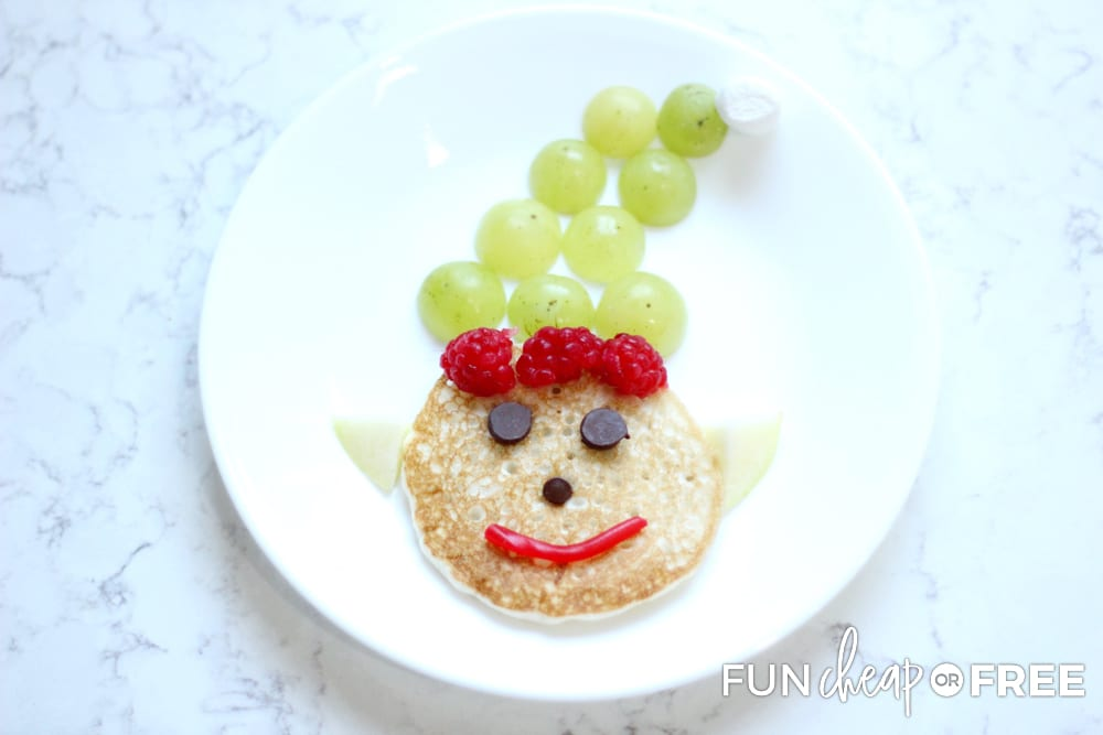 These elf pancakes are such a fun way to celebrate the holidays - Ideas from Fun Cheap or Free
