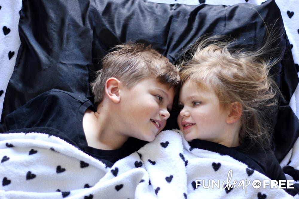 Family sleepovers are a fun way to start new New Year's Eve family traditions - Ideas from Fun Cheap or Free