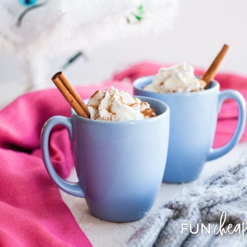 This Mexican hot chocolate recipe is not only super easy, but it's also really delicious! Get more info from Fun Cheap or Free.