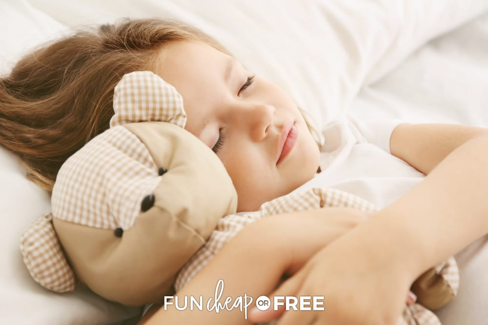 Use nap time to your advantage! Tips on how to be productive at home from Fun Cheap or Free