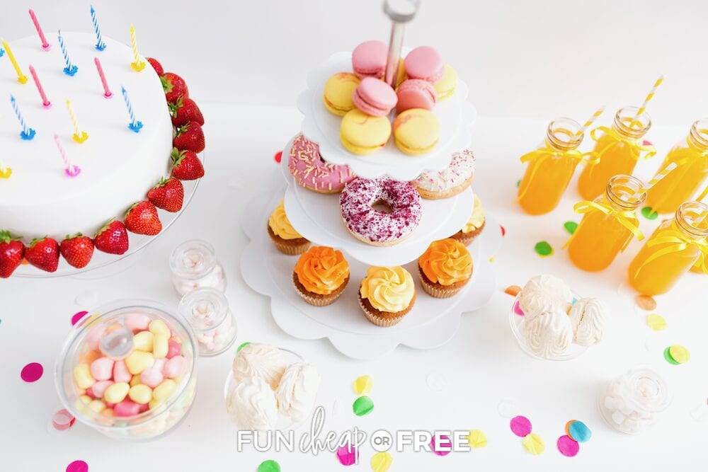 Save big on food for your next birthday bash with these cheap birthday party ideas from Fun Cheap or Free!