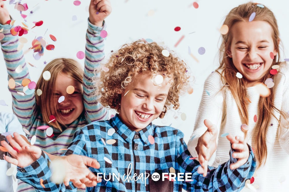 Save money with these fun Birthday Party ideas - tips from Fun Cheap or Free