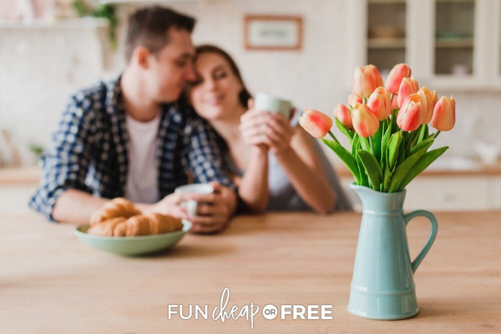Dive deeper with your lover with these fun get to know you questions from Fun Cheap or Free!