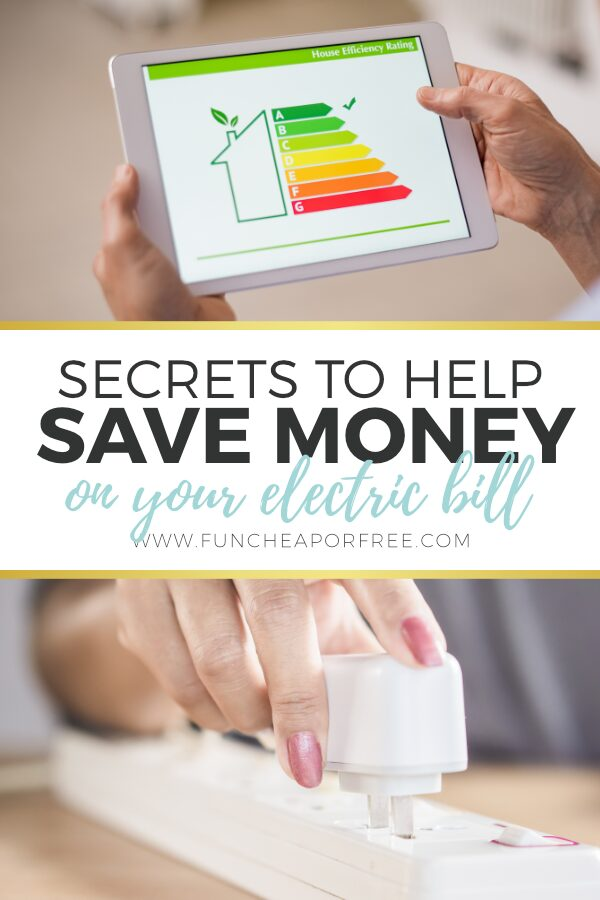 Use these great tips and watch your electricity go down! Tips from Fun Cheap or Free