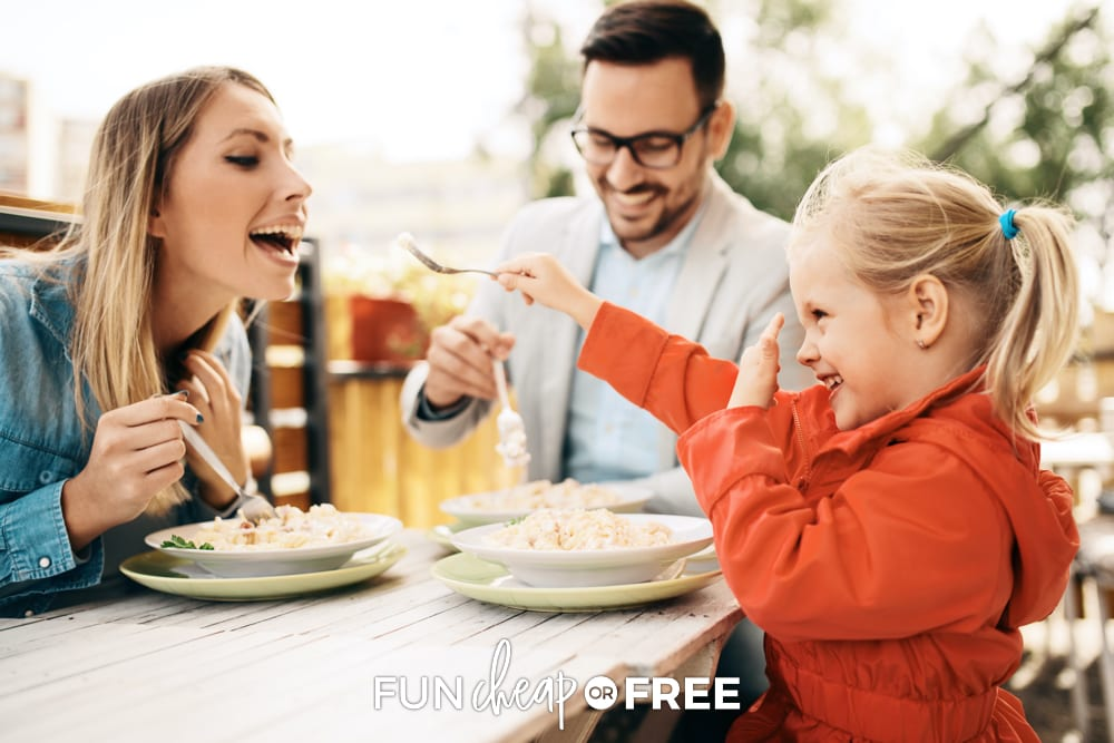 When the whole family reaches a goal, enjoy a treat yourself day with everybody! Tips from Fun Cheap or Free.