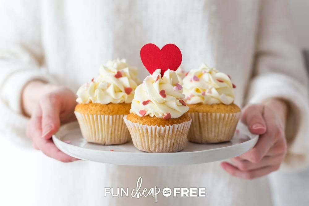 Ask other parents to help bring items to the school Valentine's Day party - Ideas from Fun Cheap or Free