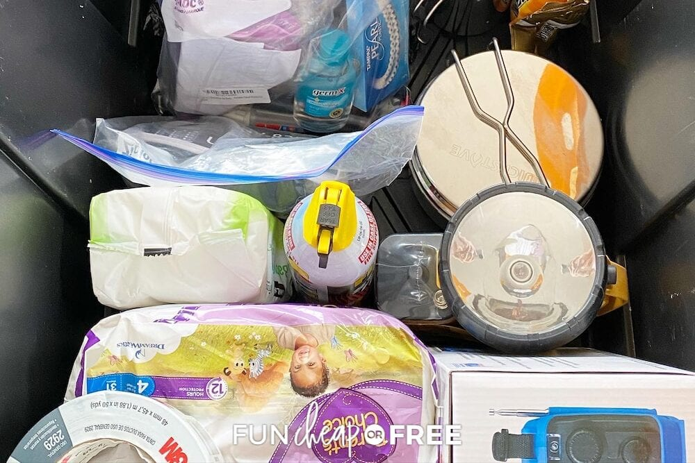 72 Hour Emergency Kit items! From Fun Cheap or Free