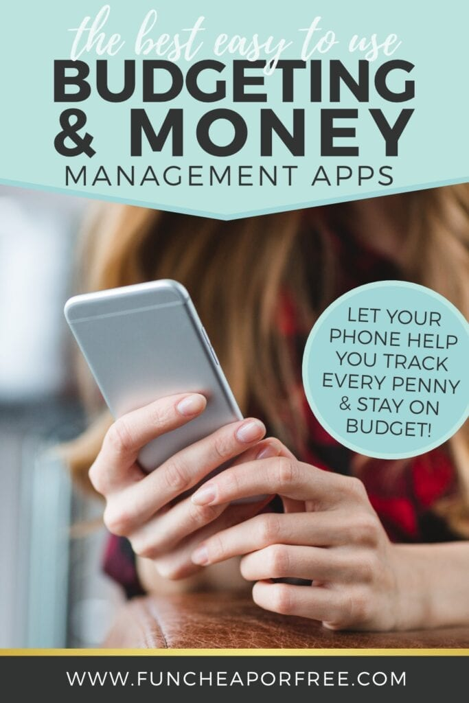 The best, easy-to-use budgeting and money management apps to help you track your budget and know where every penny is going! Tips from Fun Cheap or Free