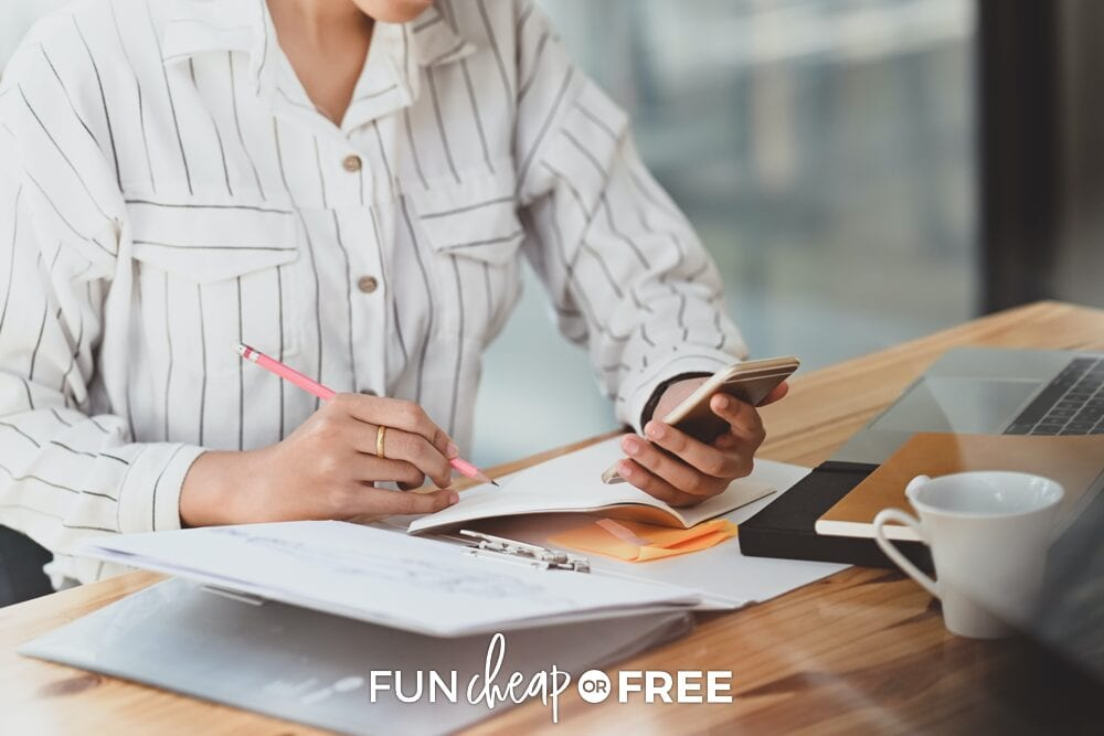 Choose an app that works best for you and your situation - Budget ideas from Fun Cheap or Free