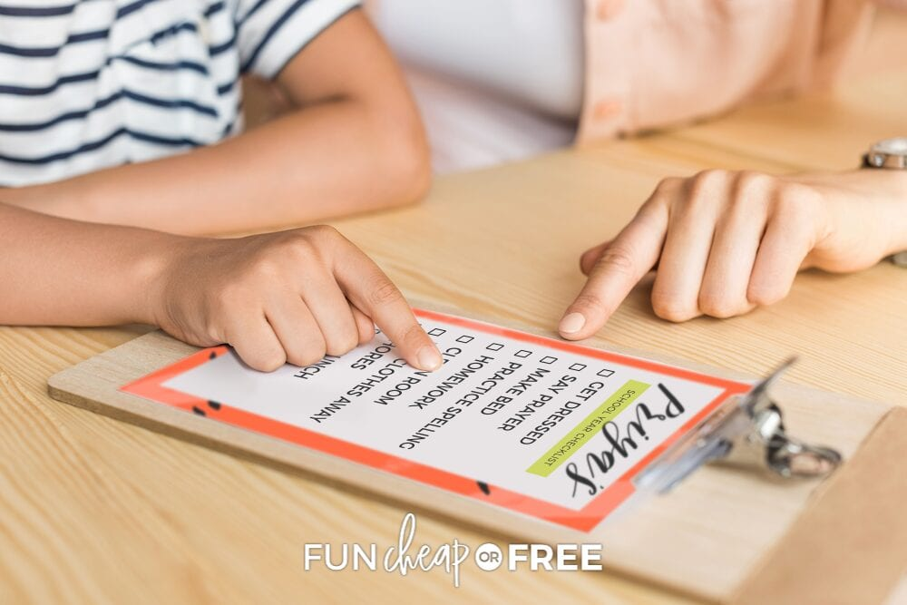 The clipboard system from Fun Cheap or Free will help you keep your kids on task!