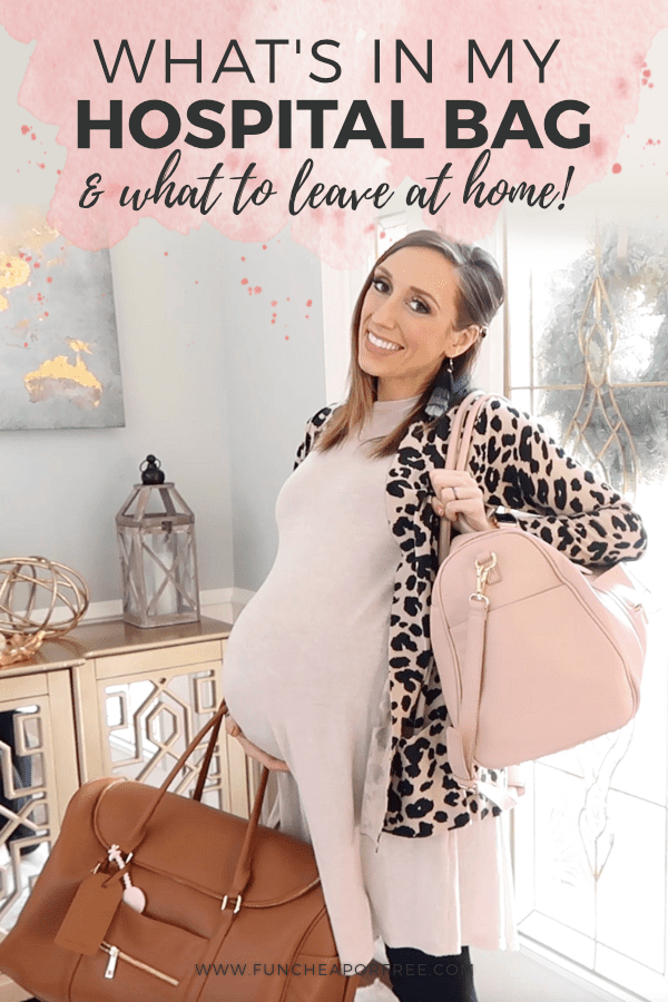 What to pack in your hospital bag! I'm sharing everything I pack and a bunch of my favorite products that just make life a little easier in the hospital - Fun Cheap or Free