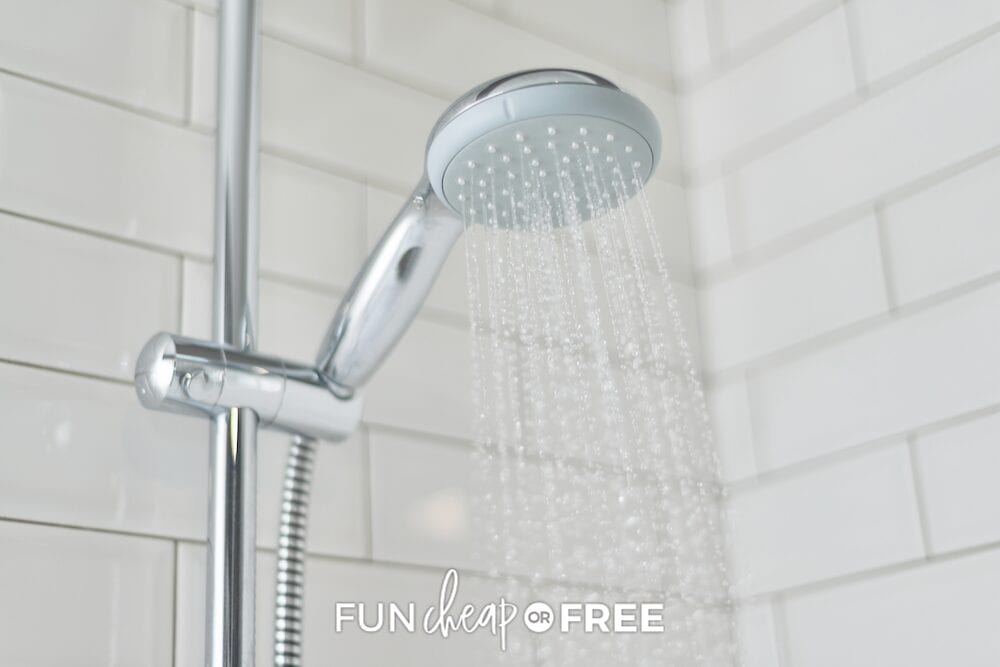 Invest in a few products to save on your water bill - tips and tricks from Fun Cheap or Free