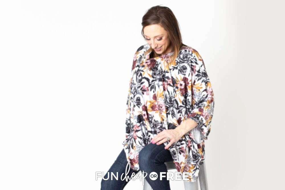Full coverage nursing cover - The Bomb Shelter cover from Jordan Page is BACK!!