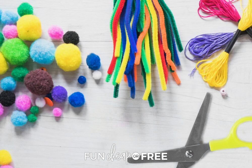 The craft items are great! Tips on what to buy at the dollar store from Fun Cheap or Free