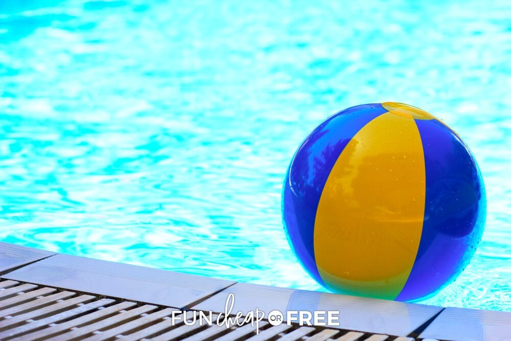 Buy cheap pool toys at the dollar store since they never last until next year, anyways! Tips from Fun Cheap or Free