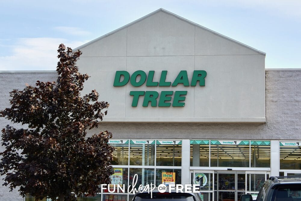 Tips for what to buy at the dollar store, from Fun Cheap or Free