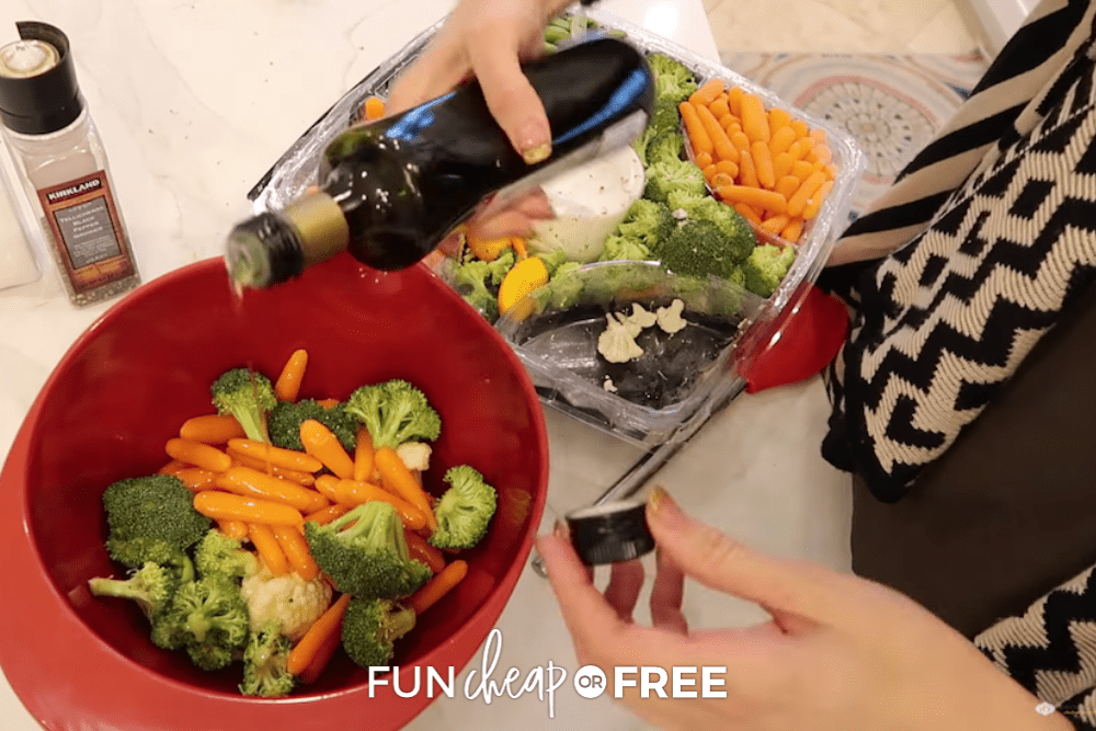 Reuse that leftover veggie tray and make something delicious with Fun Cheap or Free!