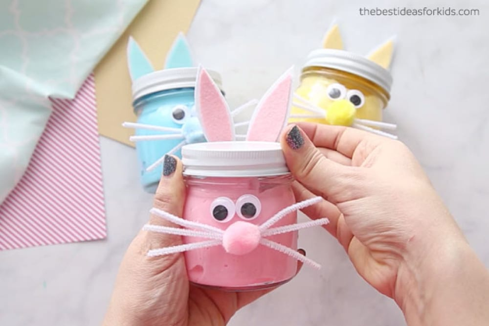 The Best Ideas for Kids' Easter bunny slime, from Fun Cheap or Free