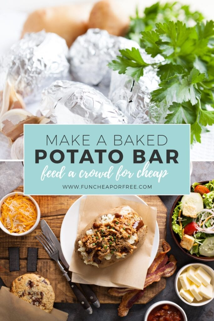 Baked potato bar from Fun Cheap or Free