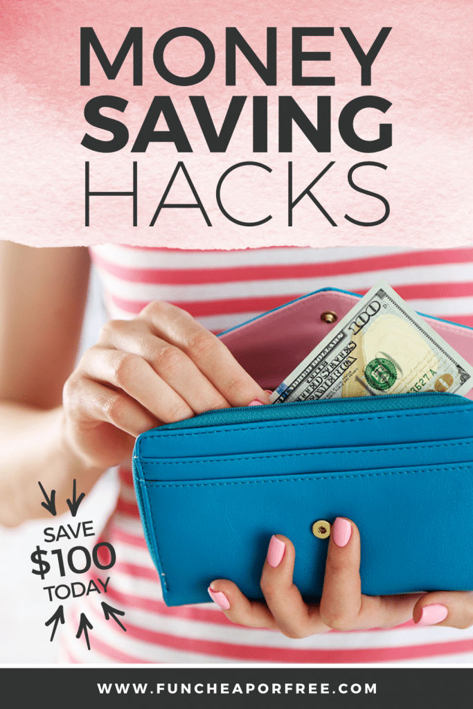 Use these money saving hacks from Fun Cheap or Free to save some cash fast!