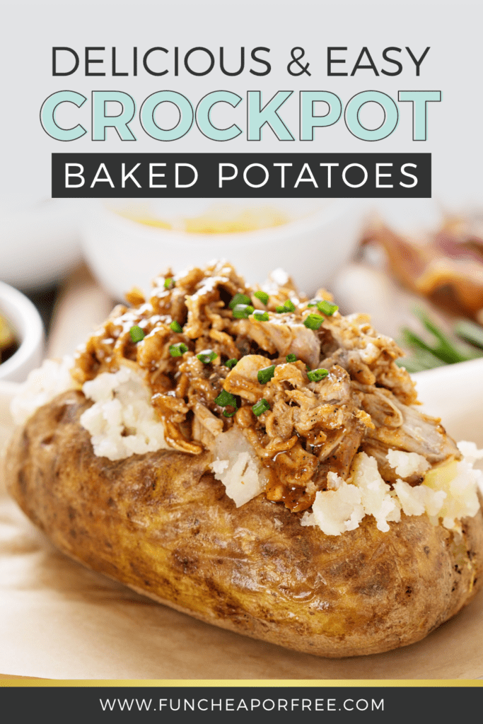 Crockpot potatoes from Fun Cheap or Free