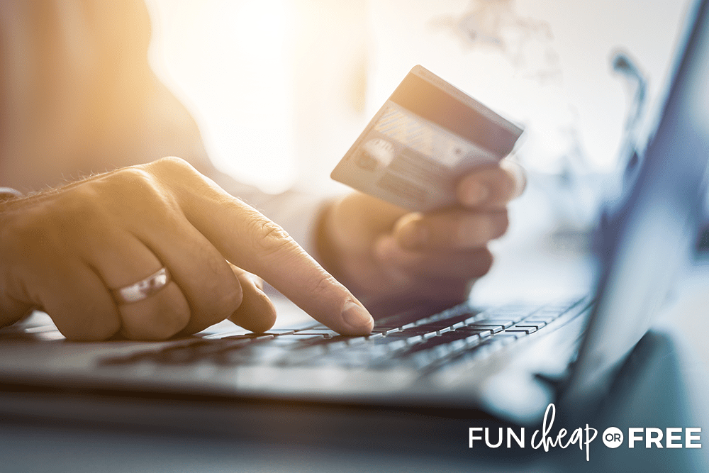 If you're going to shop online, you might as well make a little bit of money while you do it! Tips from Fun Cheap or Free
