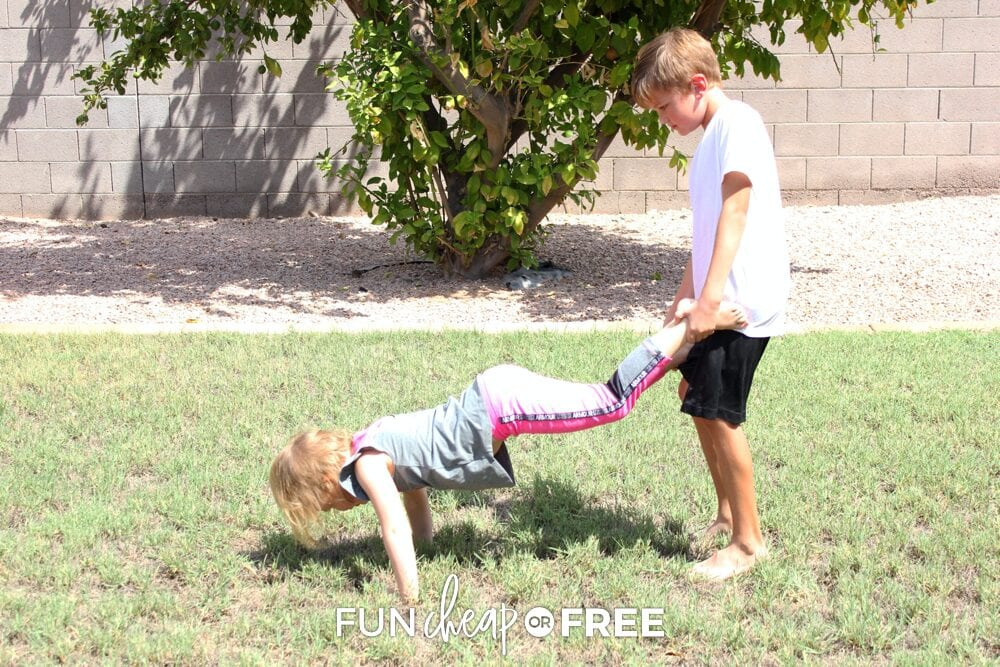 Family Olympics are a fun way to bond - Tips from Fun Cheap or Free
