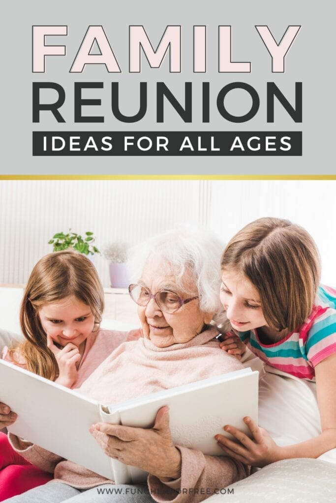 Fun family reunion ideas for all ages! These ideas will help you plan a wide range of memorable activities. Fun Cheap or Free