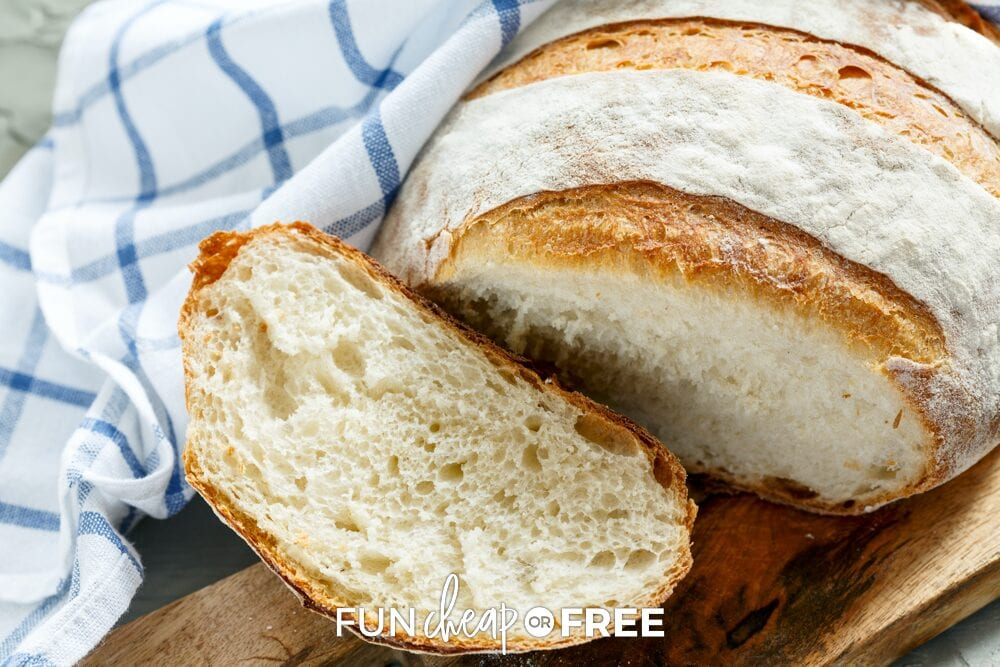 French bread recipe from Fun Cheap or Free