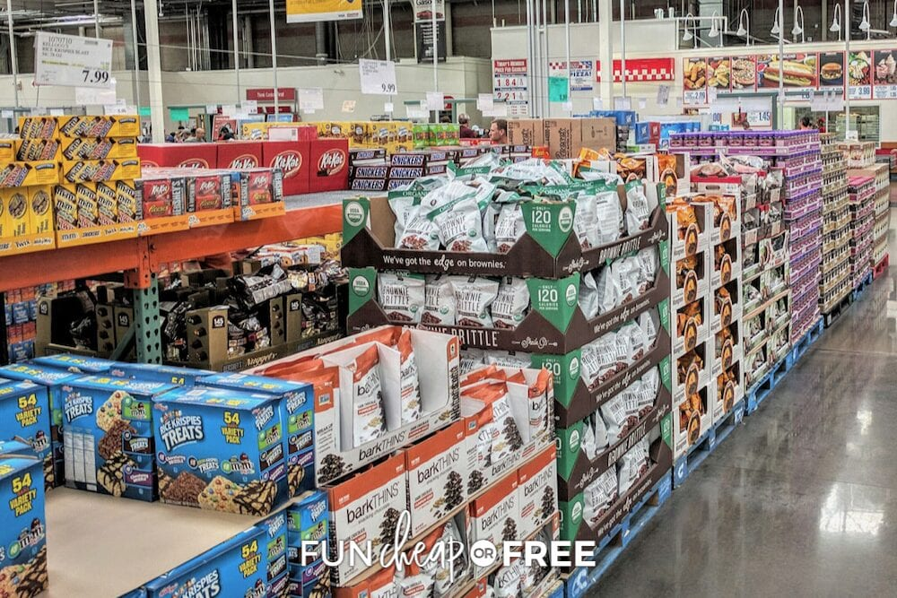 shopping for an outdoor party at Costco, from Fun Cheap or Free