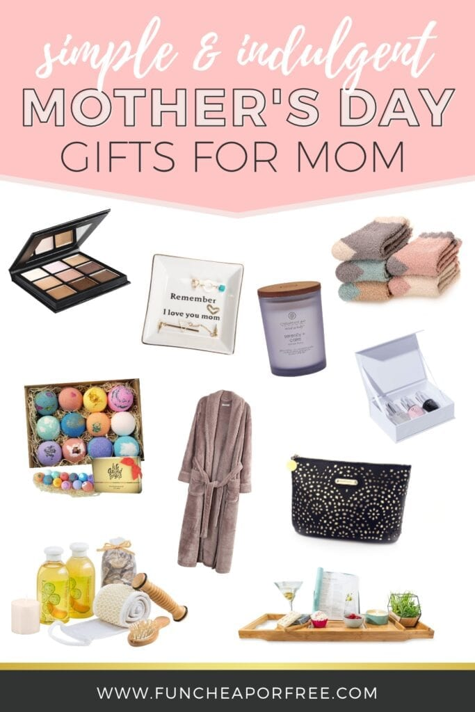 Mother's Day gift ideas, from Fun Cheap or Free
