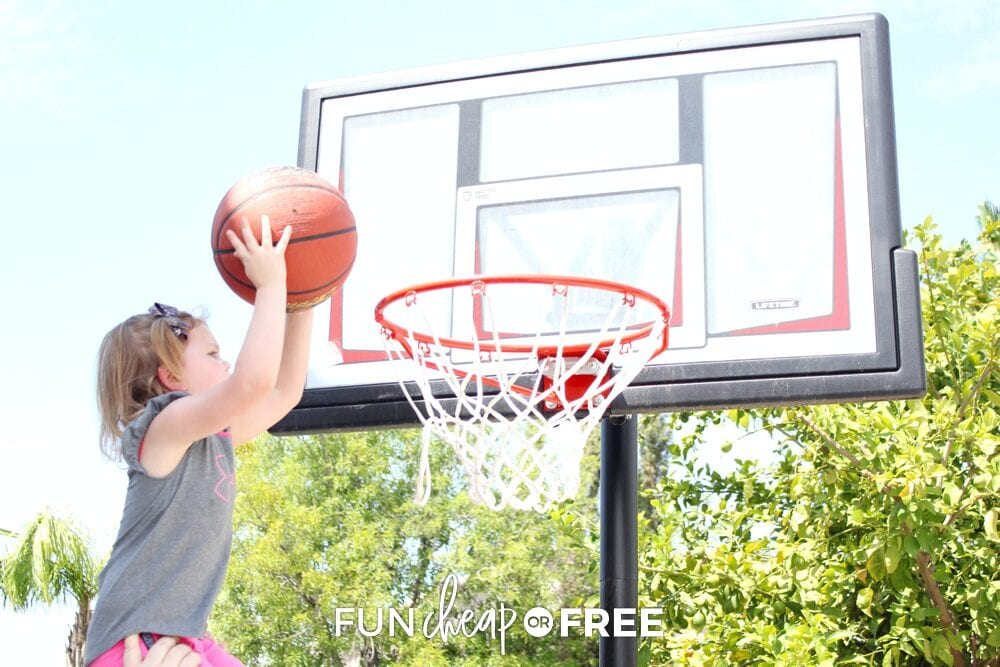 Play a sport for family night - Tips from Fun Cheap or Free