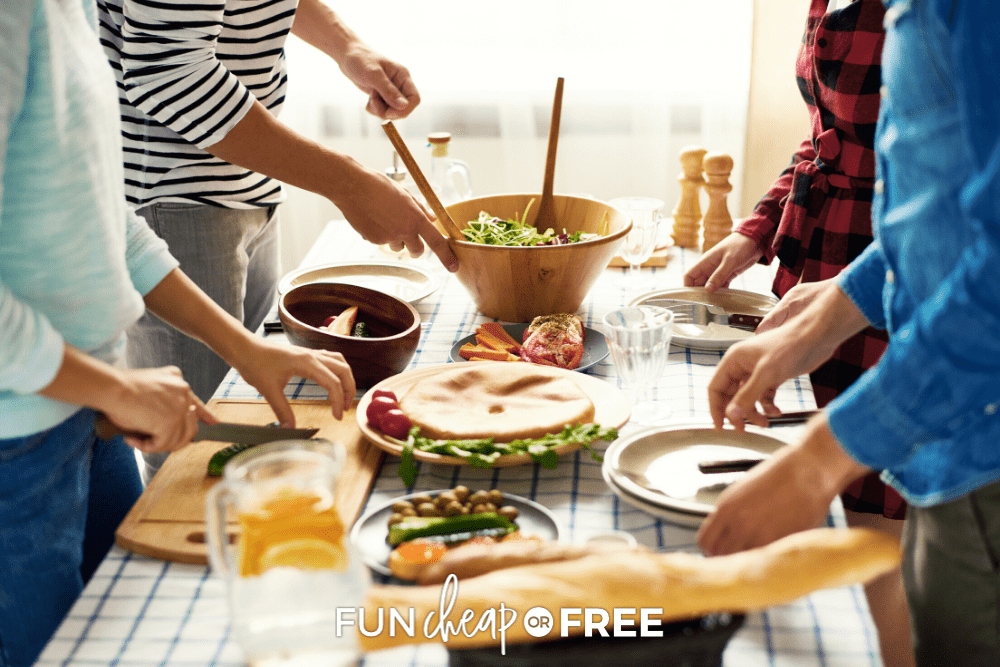 Make your gathering memorable with these fun family reunion food ideas from Fun Cheap or Free!