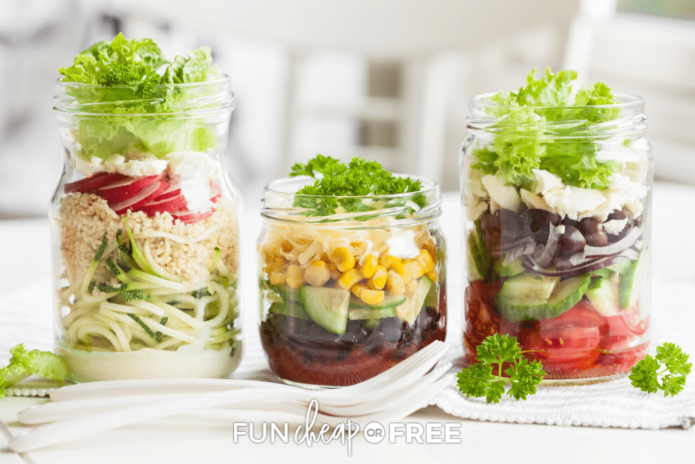 Looking for meatless lunch ideas for home? We've got you covered at Fun Cheap or Free!