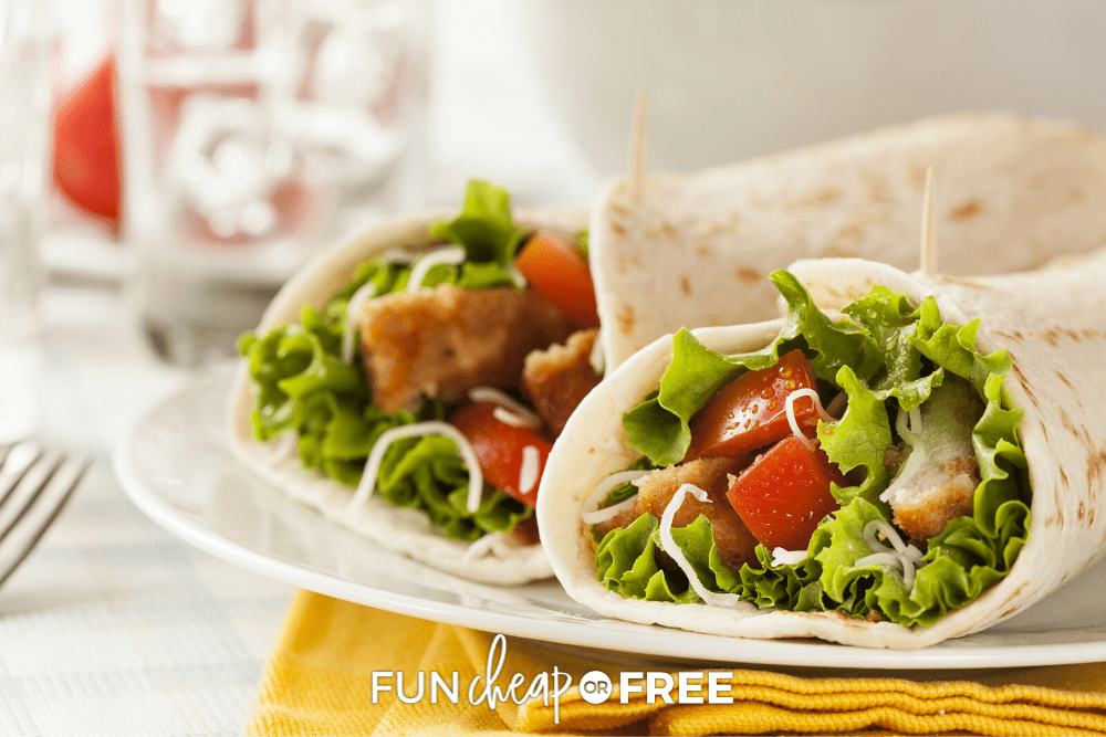 Get delicious sandwich and wrap ideas for a tasty lunch at home with Fun Cheap or Free!