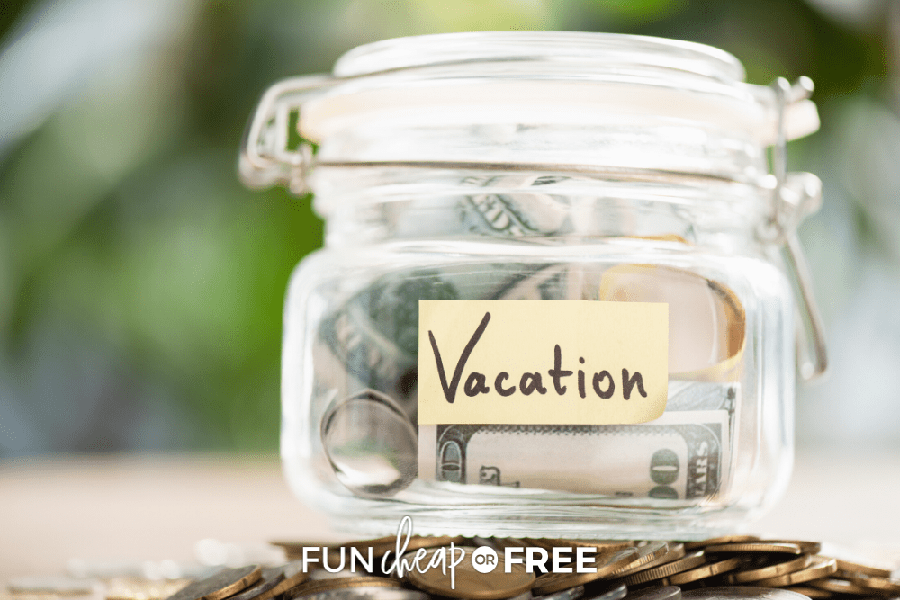 Learn how to save for a vacation FAST with these tips from Fun Cheap or Free!