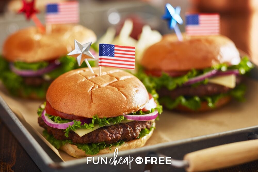 4th of July affordable party food, from Fun Cheap or Free