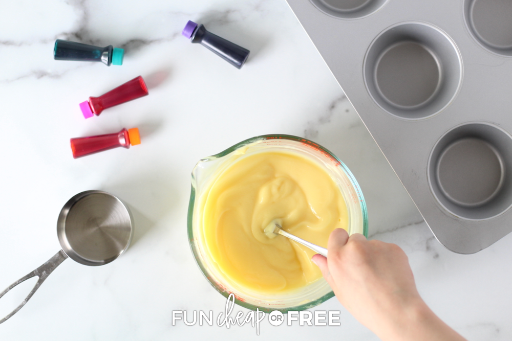 Make edible finger paint using pudding - Ideas from Fun Cheap or Free