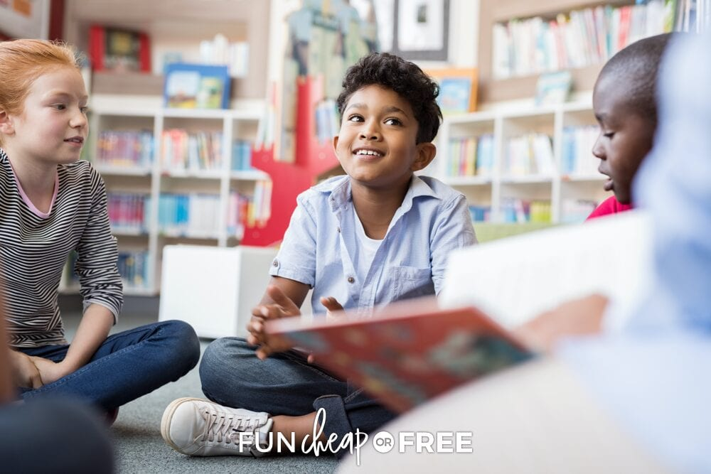 Libraries have great summer reading programs where kids can have fun while also learning new things! Pair that with our summer reading chart from Fun Cheap or Free