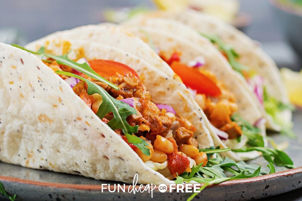 Don't forget about the food! Ideas from Fun Cheap or Free
