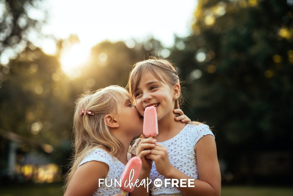 delicious summer treats, from Fun Cheap or Free