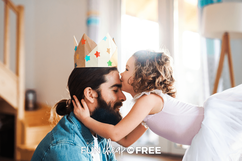 Give him something memorable with these Father's Day gift ideas from kids. Get these ideas and more at Fun Cheap or Free!