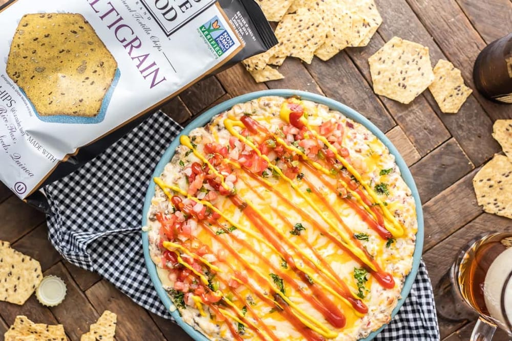 The Cookie Rookie's cheeseburger dip, from Fun Cheap or Free