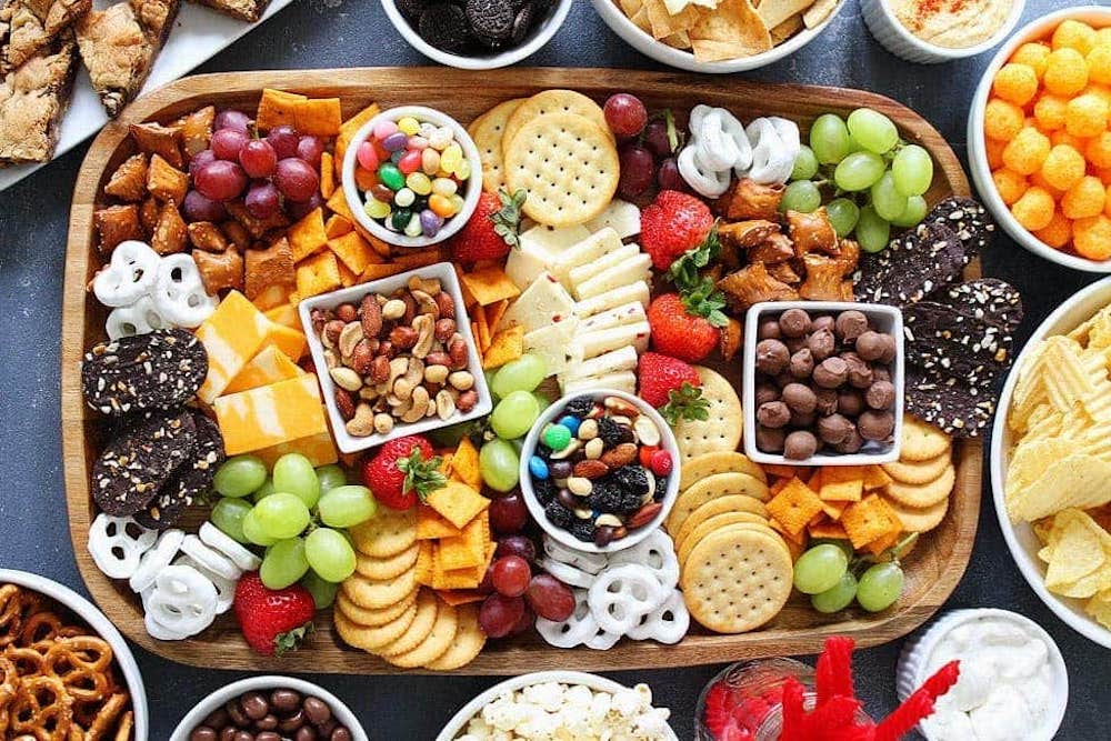 Two Peas and Their Pod charcuterie board, from Fun Cheap or Free