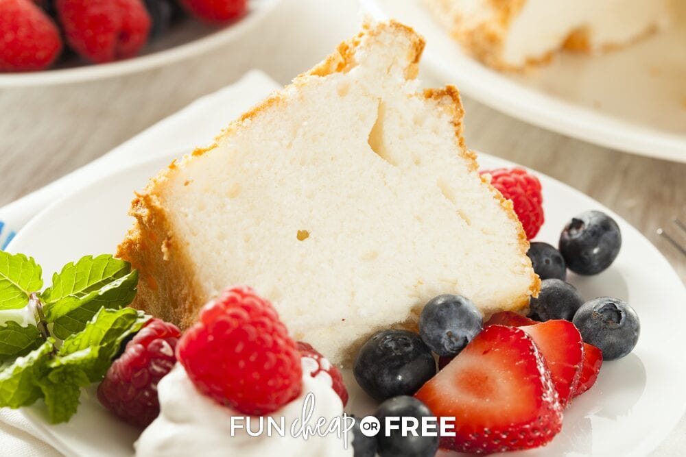 4th of July angel food cake, from Fun Cheap or Free