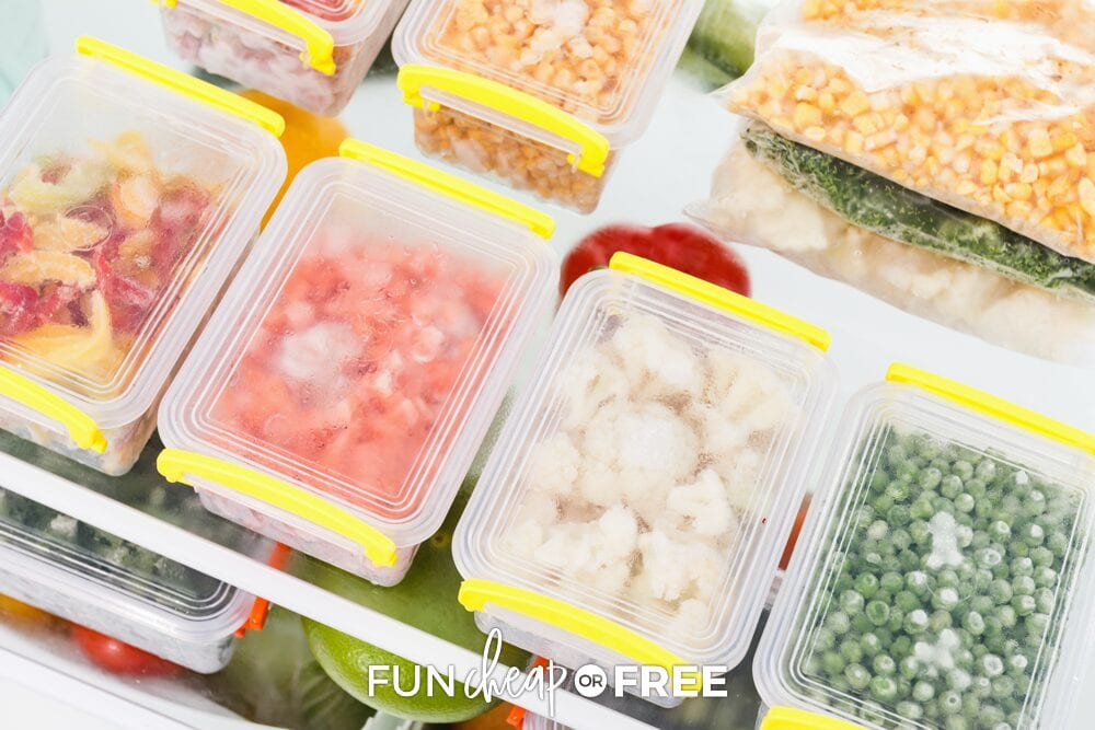 Frozen and canned fruits and veggies are a great way to get cheap nutrition into your family no matter what time of year it is - Tips from Fun Cheap or Free